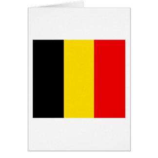 Belgien-Flaggen-Entwurf Karte
