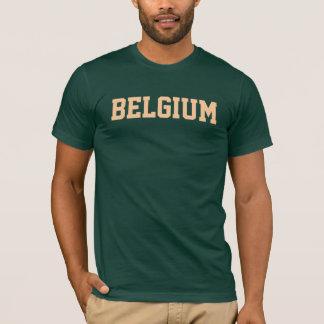 Belgien-Gewohnheits-T - Shirt