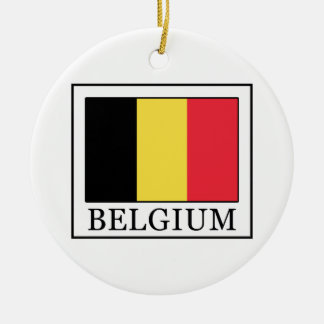 Belgien Keramik Ornament