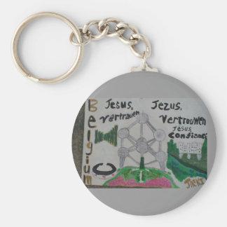 Belgien-Kunst keychain/christliches! Billig! Schlüsselanhänger