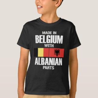 Belgien mit albanischen TEILEN T-Shirt