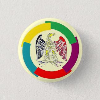 Belgien ohne Grenzen Runder Button 3,2 Cm