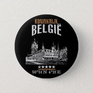 Belgien Runder Button 5,1 Cm