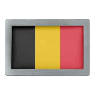 Belgien-Staatsflagge Rechteckige Gürtelschnalle