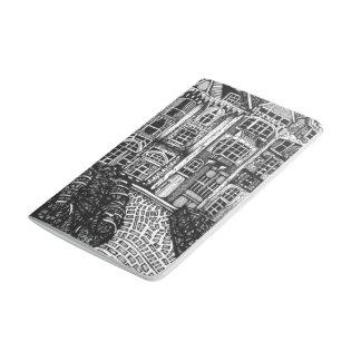 Belgien-Taschen-Zeitschrift Taschennotizbuch