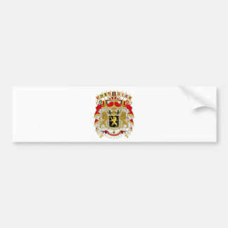 Belgien-Wappen Autoaufkleber