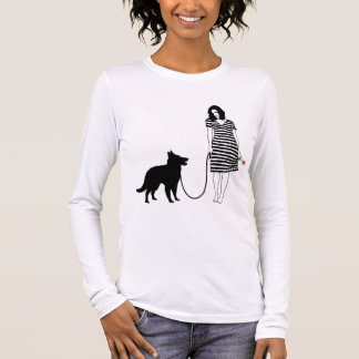 Belgier Groenendael Langarm T-Shirt