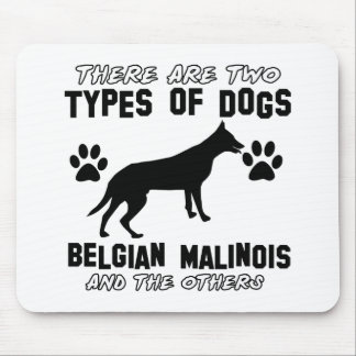 Belgier Malinois Hundeentwürfe Mousepad