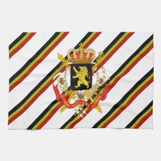 Belgier stripes Flagge Handtuch