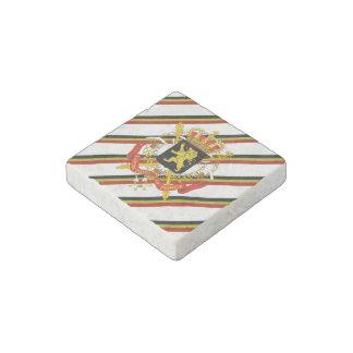 Belgier stripes Flagge Stein-Magnet