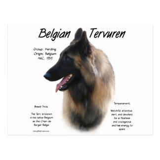 Belgier Tervuren Geschichtsentwurf Postkarte
