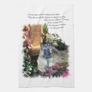 Belgier Tervuren Kunst-Geschenke Handtuch
