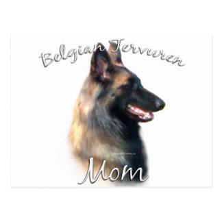 Belgier Tervuren Mamma 2 Postkarte