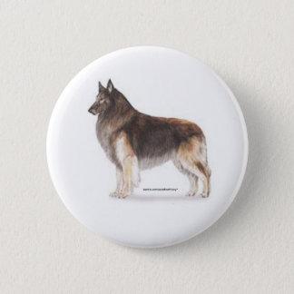 Belgier Tervuren Runder Button 5,7 Cm