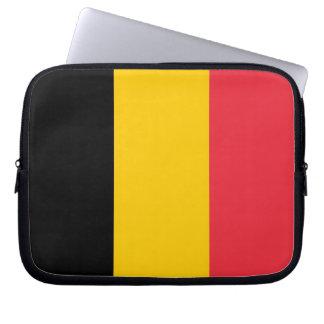 Belgische Flaggen-Laptop-Hülse Laptopschutzhülle