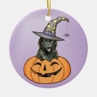 Belgischer Schäferhund Halloween Keramik Ornament