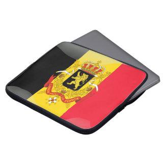 Belgisches Wappen Laptopschutzhülle
