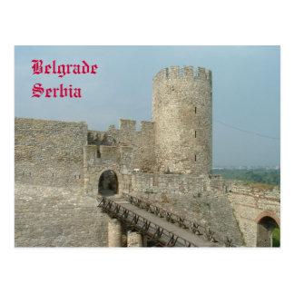 Belgrad-Schloss Postkarte