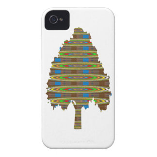 BELICHTETER rotierender Baum: Grafische Kunst iPhone 4 Hüllen