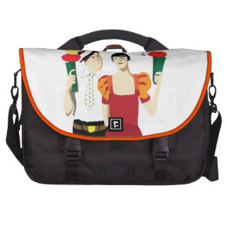beliebter Marsch Laptoptasche