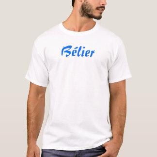 Belier (Widder auf französisch) T-Shirt
