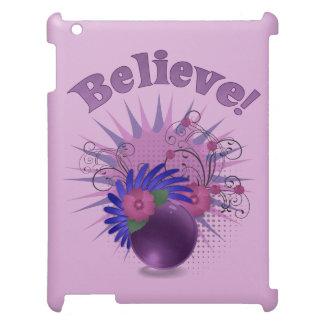Believe der bunten Trendy das abstrakte iPad Hüllen