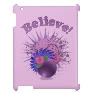 Believe der bunten Trendy das abstrakte iPad Hülle