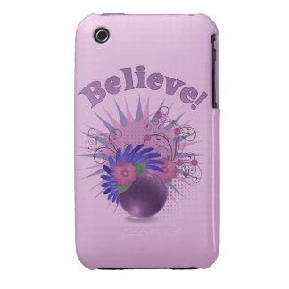 Believe der bunten Trendy das abstrakte iPhone 3 Case-Mate Hülle