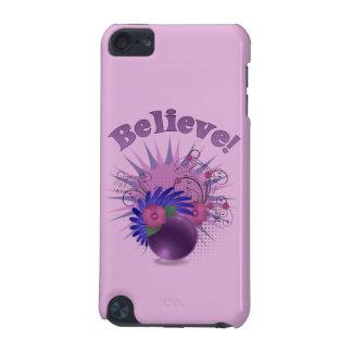 Believe der bunten Trendy das abstrakte iPod Touch 5G Hülle