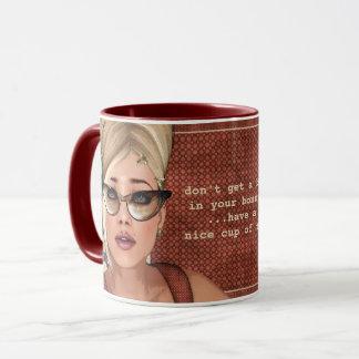 Belinda-BienenstockRetro Chic-Gewohnheits-Tassen Tasse