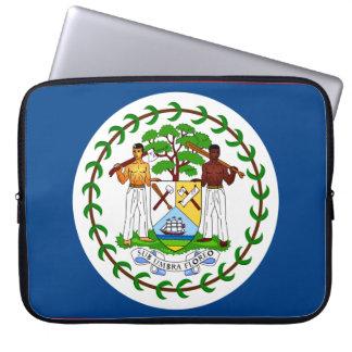 Belize-Flagge Laptop Sleeve