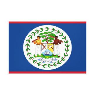 Belize-Flagge Leinwanddruck