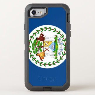 Belize-Flagge OtterBox Defender iPhone 8/7 Hülle