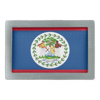 Belize-Flagge Rechteckige Gürtelschnallen