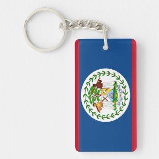 Belize-Flagge Schlüsselanhänger