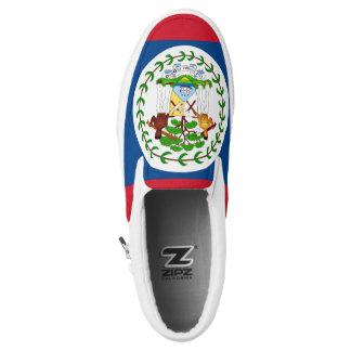 Belize-Flagge Slip-On Sneaker