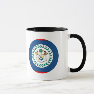 Belize-Flagge Tasse