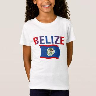 Belize-Flagge - Tri Farbe T-Shirt