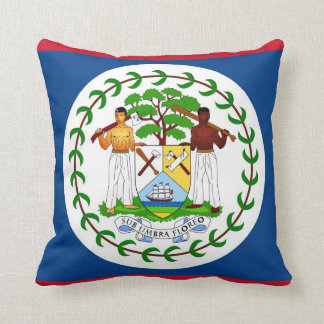 Belize-Flaggen-Amerikaner MoJo Kissen