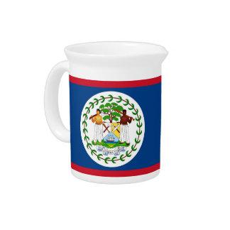 Belize-Flaggen-Krug Krug