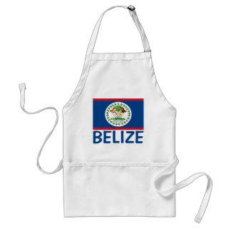 Belize-Flaggen-kundengerechter blauer Text Schürze