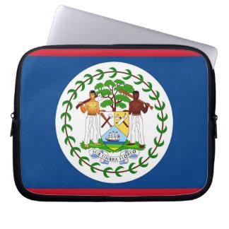 Belize-Flaggen-Laptop-Hülse Laptopschutzhülle