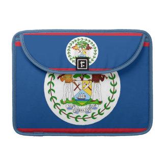 Belize-Flaggen-Rickshaw-Klappen-Hülse Sleeve Für MacBook Pro
