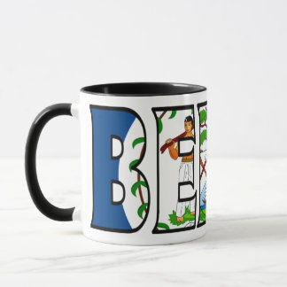 Belize-Kaffeetasse Tasse