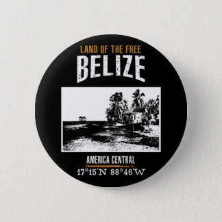 Belize Runder Button 5,7 Cm