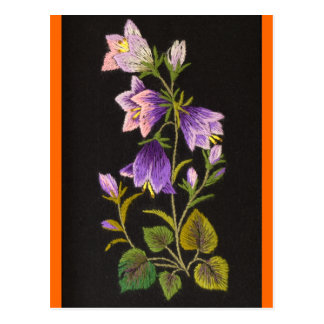 Bell-Blume Postkarte