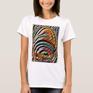 Bell, Klingel: Alte Tempel-Wand gravierte Kunst T-Shirt