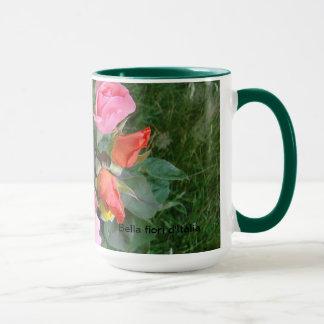 Bella fiori d'Italia - große Keramik-Tasse Tasse