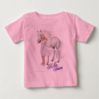 Bella Sara Pose Baby T-shirt
