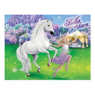 Bella u. Sara Moonfairies Postkarte